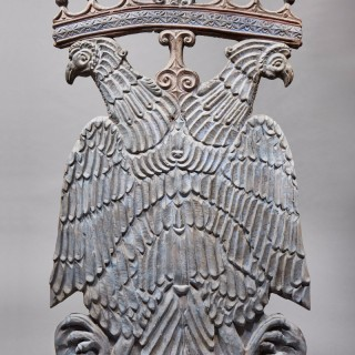 A Carved Armorial Eagle, Italy, 16th Century