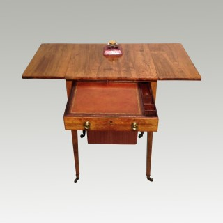 Georgian rosewood work table.