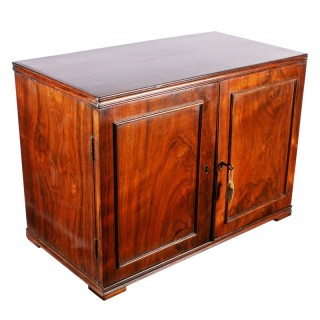 George IV Rosewood Collector's Cabinet