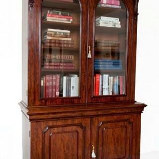 A fine Victorian mahogany library bookcase circa 1860