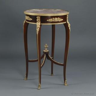 Louis XV Style Marble Table Ambulante