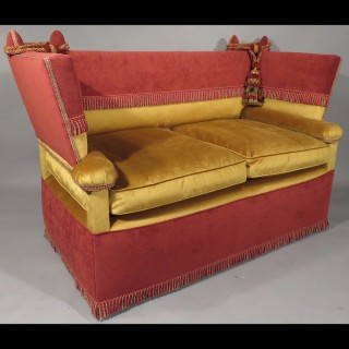 An early 20th Century Knole Sofa