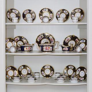 An early 19th century Ridgway porcelain tea service