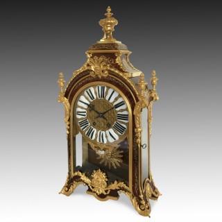 French Régence Style Boulle & Ormolu Bracket Clock