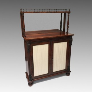 Antique George IV Rosewood Chiffonier by Gillows