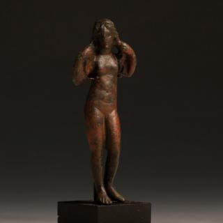 Roman Bronze Statuette of the Goddess Venus