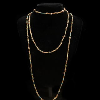 Necklace with ancient Egyptian beads