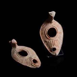 Byzantine oil lamps