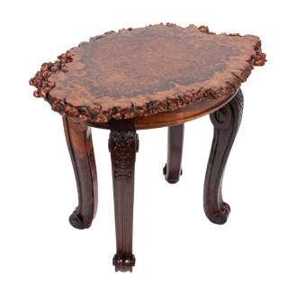 George IV Burl Oak Top Table