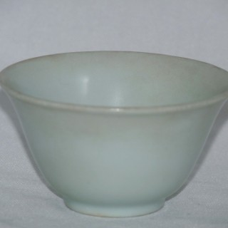 Hatcher Cargo White Glazed Wine Bowl