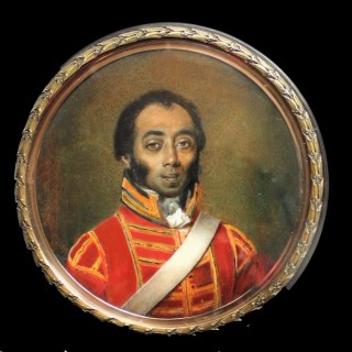Henry McGilchrist, a Trumpter (Kettle Drummer)  of the 3rd (King's Own)  Dragoons