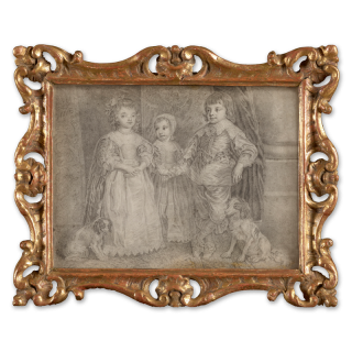 The Three Eldest Children of Charles I, after Sir Anthony van Dyck (1599-1641), c.1740