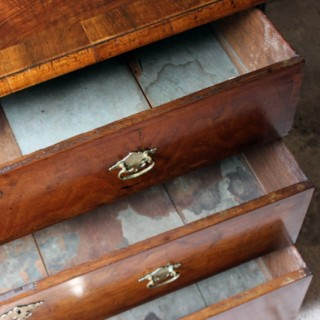 A Delightful Queen Anne Period Walnut Chest of Drawers c.1710