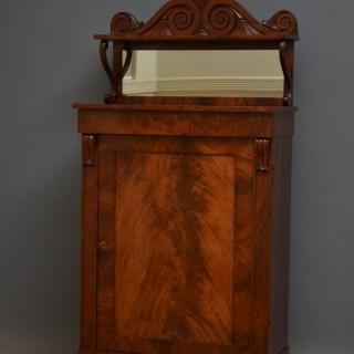 William IV Mahogany Side Cabinet