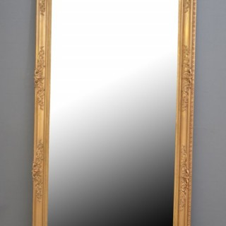 XIXth Century French Giltwood Mirror