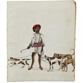 A Doriya or Dog Handler Painting