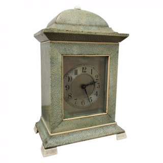 Edwardian Bracket Clock in Shagreen