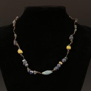 Roman Glass Bead Necklace
