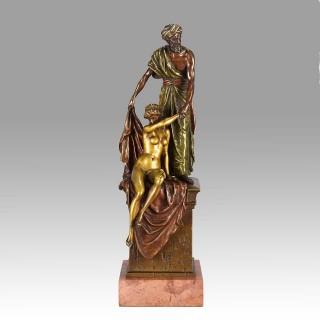 Orientalist Vienna Bronze Arab Slave Trader