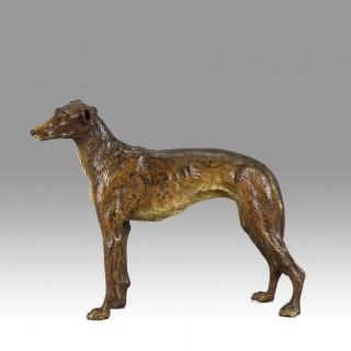 Bergman Bronze Greyhound