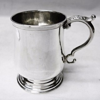 Antique Colonial Silver Mug
