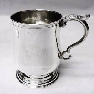 Antique Colonial Silver Mug