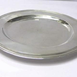 Charles II Silver Alms Dish