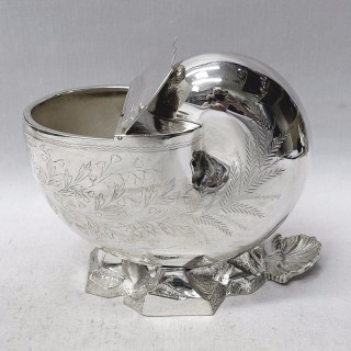 Victorian Silver Plater Spoonwarmer