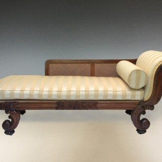Antique Gillows & Co George III Rosewood Couch
