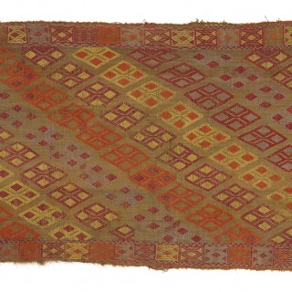 Konya Kilim Rug, Central Anatolia, Turkey