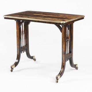 Regency Period Coromandel Table Attributed to Gillows