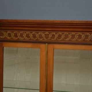 Edwardian Mahogany Low Display Cabinet