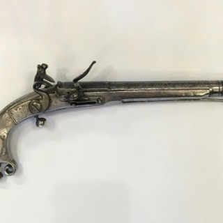 An 18th century Doune pistol.