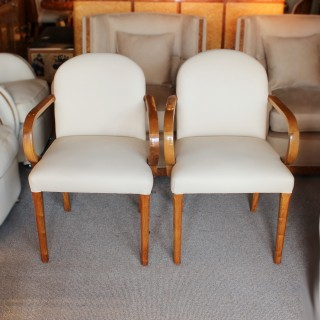 Art Deco Armchairs