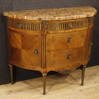 19th Century Inlaid Dresser In Louis XVI Style