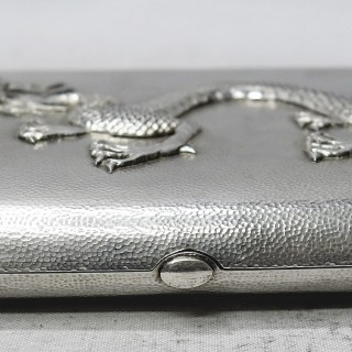 Antique Chinese Silver Case