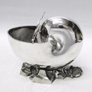 Victorian Silver Plated Spoonwarmer