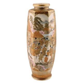 Late 19th Century Satsuma Vase