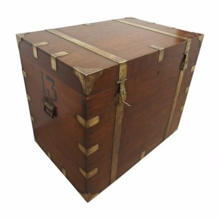 Large Unusual Teak Trunk