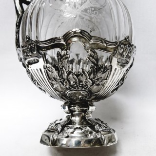 French Silver Claret Jugs