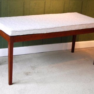 George III Period Mahogany Valise Stand  I.M. Gillows of Lancaster