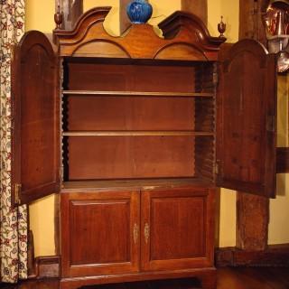 Georgian Oak Estate Cupboard