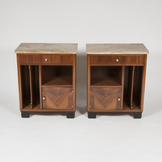 A pair of Art Deco Cabinets