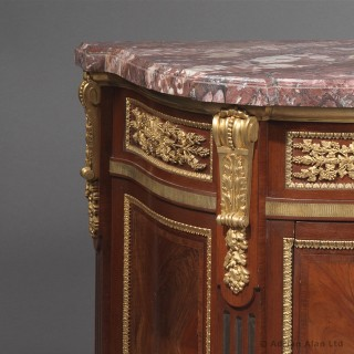 Louis XVI Style Gilt-Bronze Mounted Commode