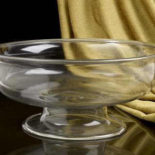 16th Century Clear Glass Venetian Bowl