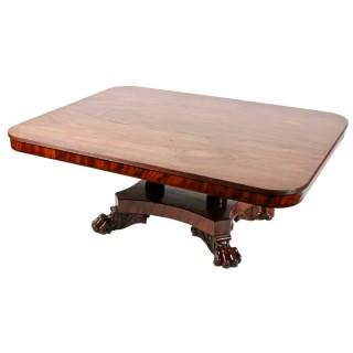George IV Mahogany Coffee Table
