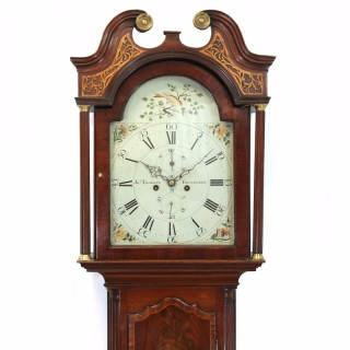 Scottish mahogany longcase clock, J Thomson of Edinburgh