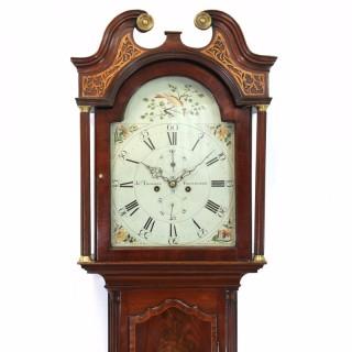 Scottish mahogany longcase clock, J Thomson of Edinburgh