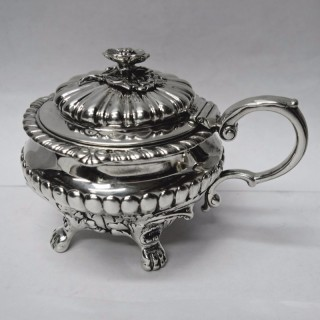 Antique Silver Mustard Pot by Paul Storr