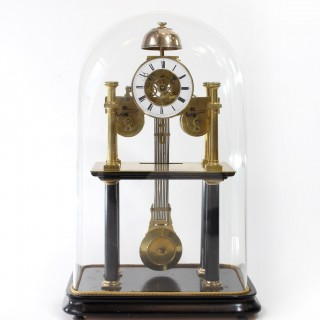 French skeleton clock, Silvani of Paris